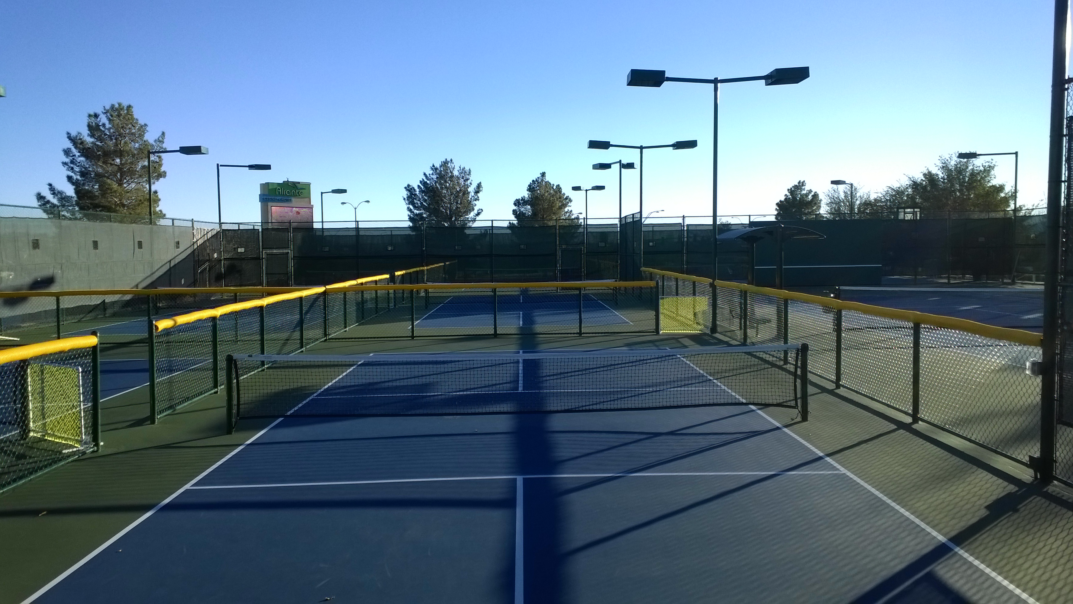 Aliante Community Tennis Court Expansion 2