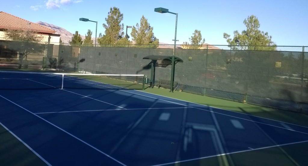 Aliante Community Tennis Court Expansion