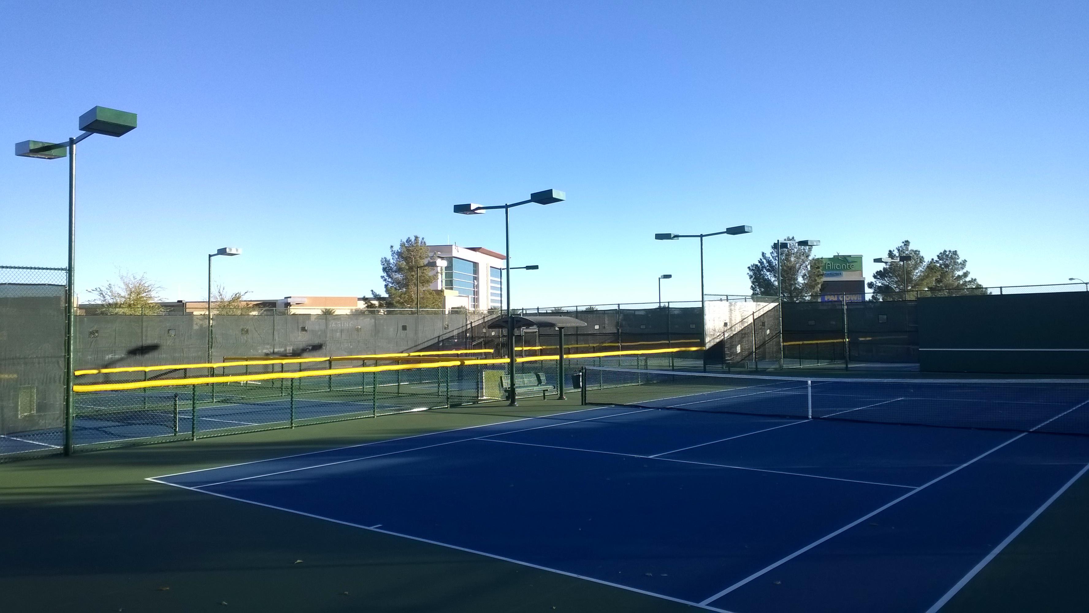 Aliante Community Tennis Court Expansion 4