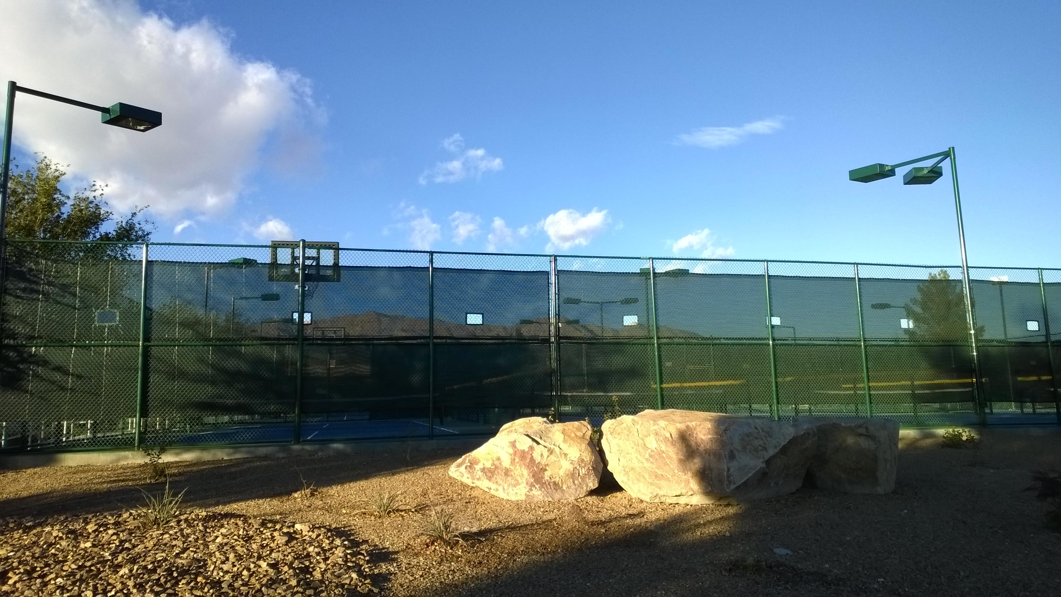Aliante Community Tennis Court Expansion 7