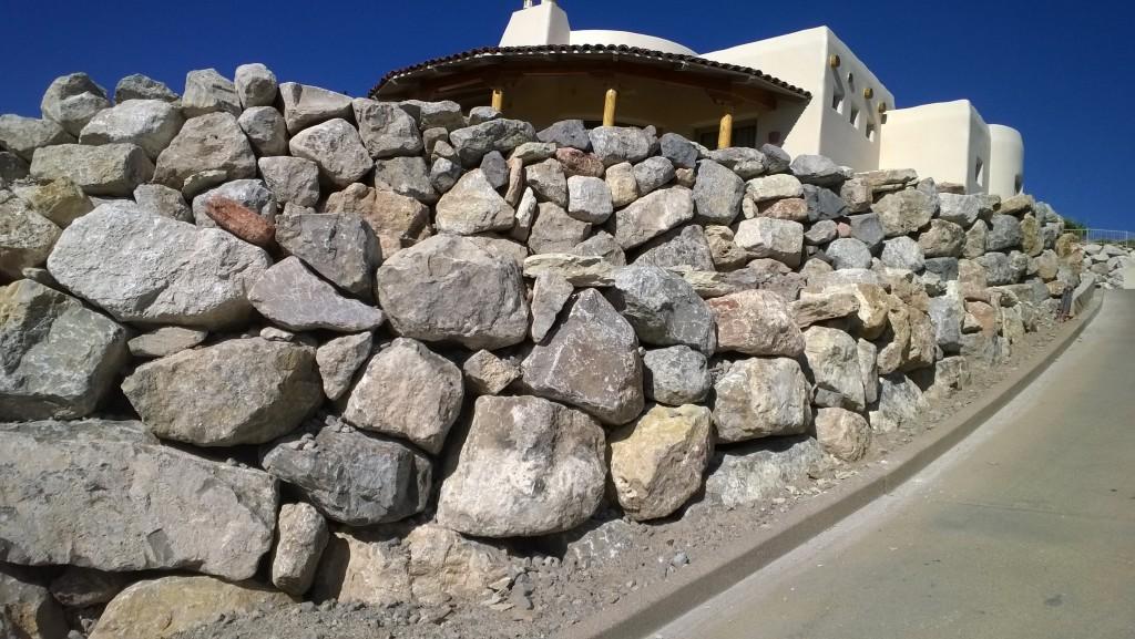 Harper Rockery Wall